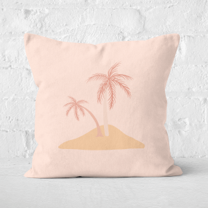 Dessert Island Square Cushion