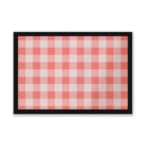 Baking Blanket Red Entrance Mat