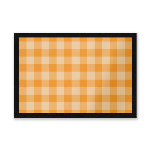 Baking Blanket Orange Entrance Mat
