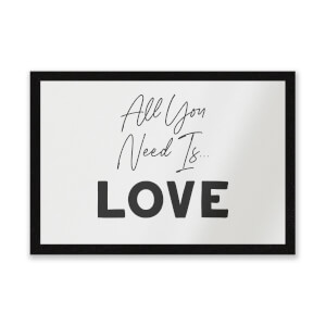 All You Need Is Love Entrance Mat
