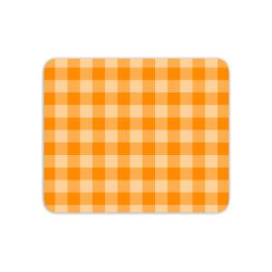Baking Blanket Orange Mouse Mat