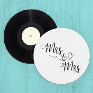 Mrs & Mrs Slip Mat