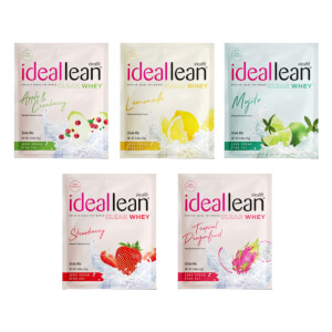IdealFit Clear Whey Protein Sample Pack - 5 Servings