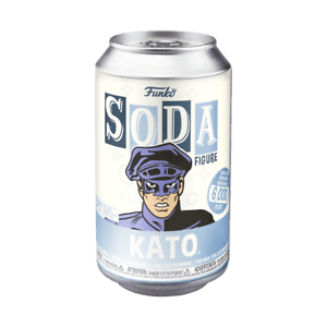 Green Hornet Kato Vinyl Soda Figure in Collector Can