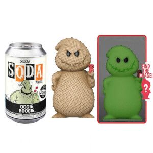 Disney Nightmare Before Christmas Oogie Boogie Vinyl Soda Figure in Collector Can