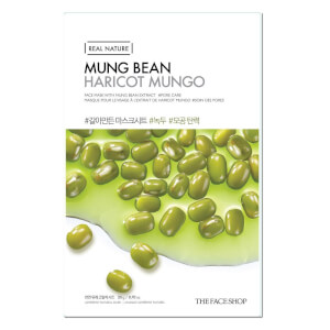 THE FACE SHOP Real Nature Sheet Mask Mung Bean