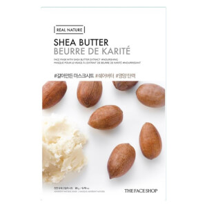 THE FACE SHOP Real Nature Sheet Mask Shea Butter