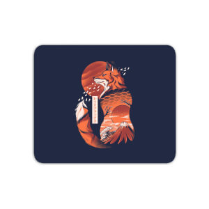 Ilustrata Japanese Fox Mouse Mat