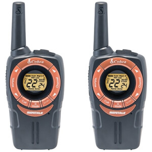 Cobra SM662C Walkie Talkie with 8km Range, Power Saving Function and Rechargeable Batteries from I Want One Of Those