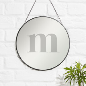 M Engraved Mirror