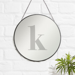 K Engraved Mirror
