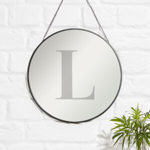L Engraved Mirror