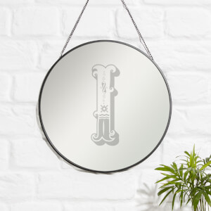 Circus I Engraved Mirror
