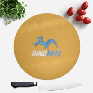 Dino Mite Round Chopping Board