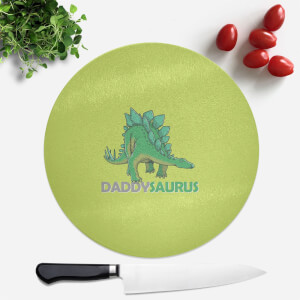 Daddysaurus Round Chopping Board