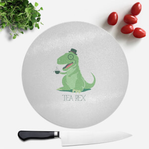 Tea Rex Round Chopping Board