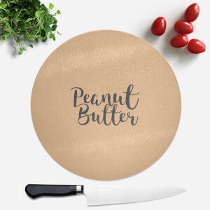 Peanut Butter Round Chopping Board
