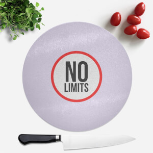 No Limits Round Chopping Board