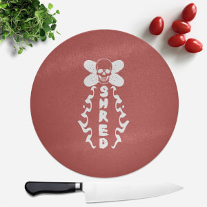 Shred Skateboards Round Chopping Board