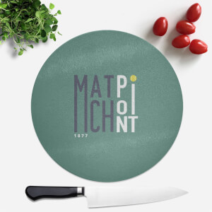 Match Point Round Chopping Board