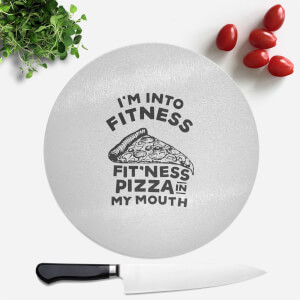 Fitness Pizza Round Chopping Board