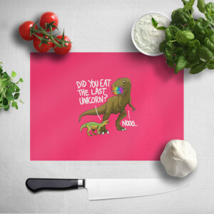Dinosaur Unicorn Chopping Board