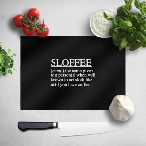 Sloffee Chopping Board