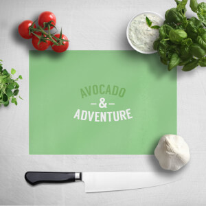 Avocado And Adventure Chopping Board