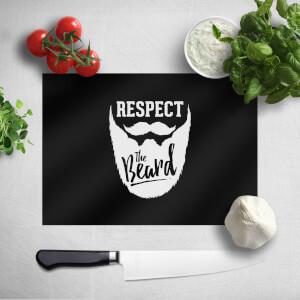 Respect The Beard Chopping Board