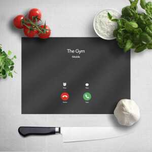 Gym Calling Chopping Board