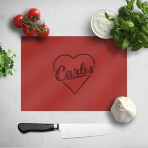 Love Carbs Chopping Board