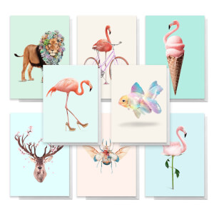Designs By Jonas Loose Pack Of Greetings Cards