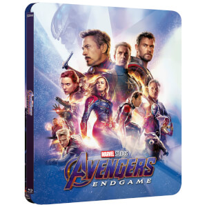 Exclusivité Zavvi : Steelbook Lenticulaire Avengers: Endgame - 3D (Blu-ray 2D Inclus)
