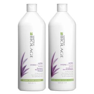 Biolage HydraSource Shampoo and Conditioner Bundle 2 x 1000ml