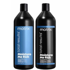 Matrix Total Results Moisture me Rich Shampoo and Conditioner Bundle 2 x 1000ml