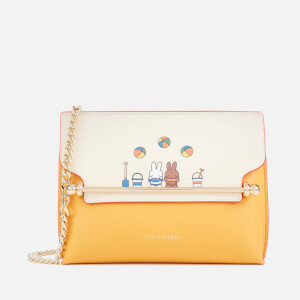 Strathberry X Miffy Women's Beach Stylist Mini Shoulder Bag - Vanilla/Blossom Yellow