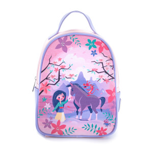 Loungefly Disney Mulan & Friends Canvas-Faced Mini Backpack - VeryNeko Exclusive