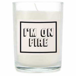 I'm On Fire Candle