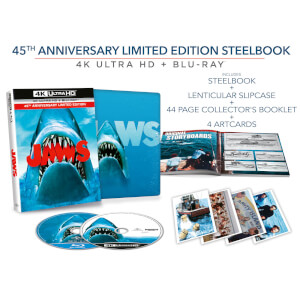 Jaws - Zavvi Exclusive 4K Ultra HD Collector's Edition Steelbook (Includes 2D Blu-ray)