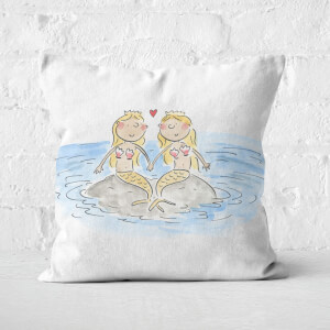 Mermaids Square Cushion
