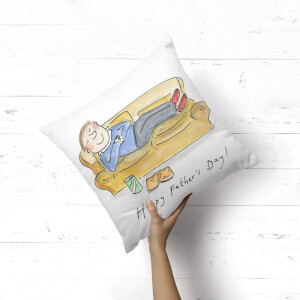 Happy Fathers Day! Square Cushion