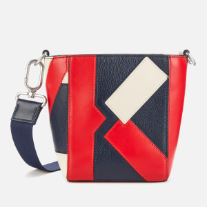 KENZO Women's Kube Tricolour Mini Tote Bag - Medium Red