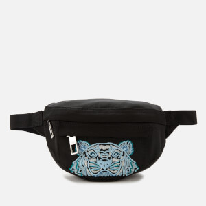 KENZO Kampus Canvas Mini Belt Bag - Black