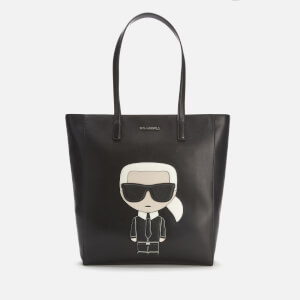 Karl Lagerfeld Women's K/Ikonik Soft Tote Bag - Black