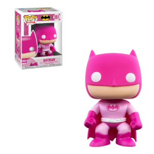 Figurine Pop! Batman Rose - Breast Cancer Awareness Month (Octobre Rose) - DC Comics