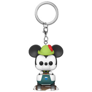 Disney 65th Mickey with Matterhorn Pop! Keychain