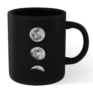 The Motivated Type 3 Moons Mug - Black