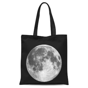 The Motivated Type Moon Tote Bag - Black