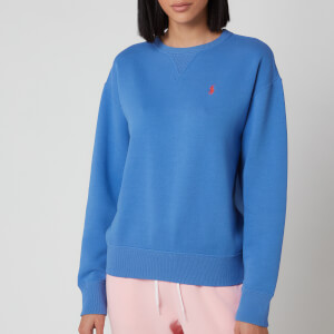 Polo Ralph Lauren Women's Logo Long Sleeve Top - Resort Blue