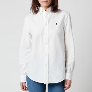 Polo Ralph Lauren Women's Relaxed Logo Shirt - White